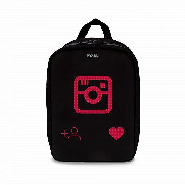 Рюкзак с LED-дисплеем PIXEL PLUS - BLACK MOON черный