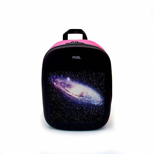 Рюкзак с LED-дисплеем PIXEL ONE - PINKMAN розовый