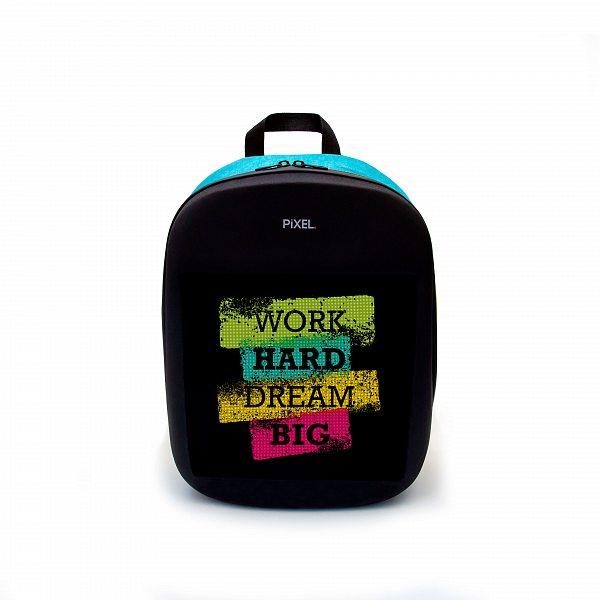 Рюкзак с LED-дисплеем PIXEL ONE - BLUE SKY голубой
