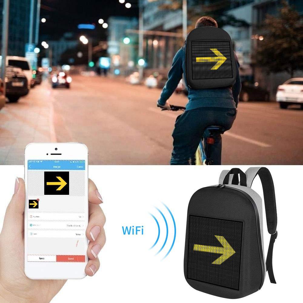 LED рюкзак - покажи свои эмоции!